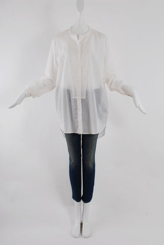 Rodebjer Lux Airy Shirt in White