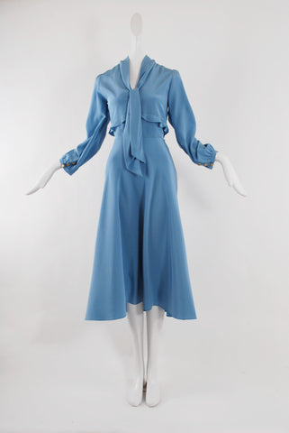 Maison Mayle Nadege Dress in French Blue