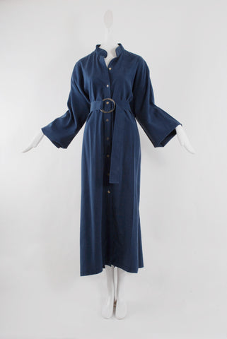 Delfina Balda Zirko Tunic in Washed Blue