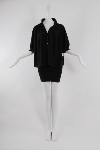 Maison Mayle Lalou Blouse in Black