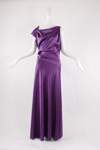 Francesca Rosafio Long Dress in Purple