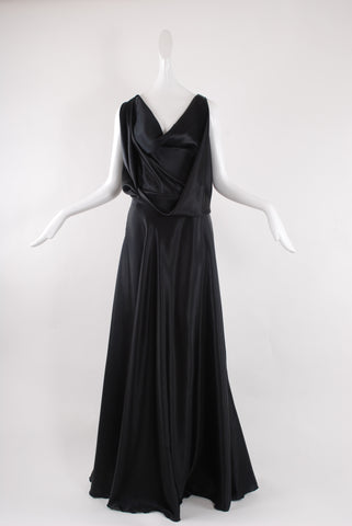 Francesca Rosafio Long Dress in Black