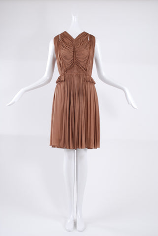 Isabel Toledo Starburst Dress in Cocoa