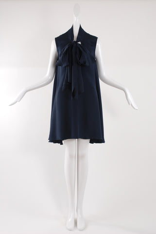 Jessica Choay Virtuous Dress in Dark Blue