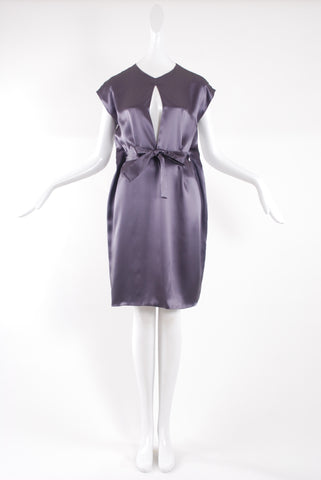 Jessica Choay LBD Dress in Purple Grey