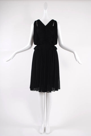 Isabel Toledo Starburst Dress Black