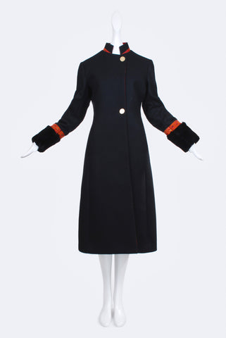 Zarif Black Coat