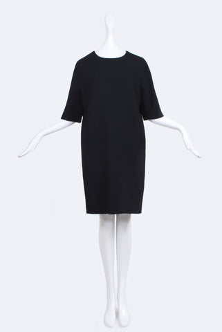Dorothée Vogel Cool Wool Dress Black