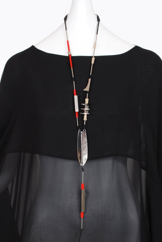 Anu En Inde Folded Plate Necklace