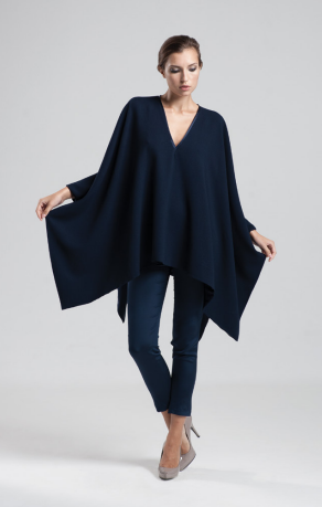 Allure Cape in Black by Jessica Choay
