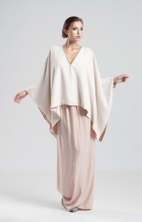 Allure Cape in Pink by Jessica Choay