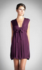 Jessica Choay Cage Dress in Purple