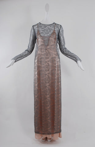 Jessica Choay Nymph Dress in Grey