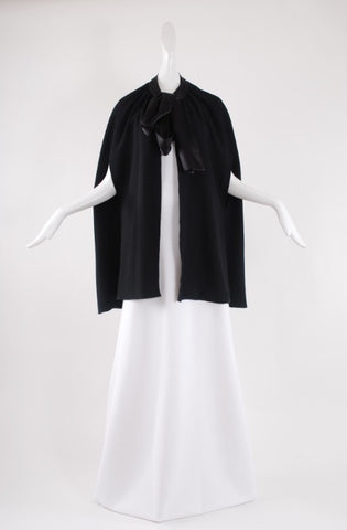Jessica Choay Concealed Cape in Black