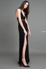 Jessica Choay Fatal Dress in Black