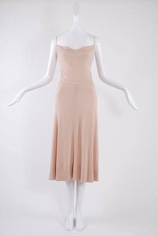 Isabel Toledo Tanker Dress in Nude