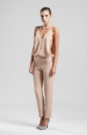 Masculine Jumpsuit by Jessica Choay