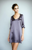 Jessica Choay T-Shirt Dress in Grey
