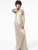 Nili Lotan Maxi Tank Dress in Sand