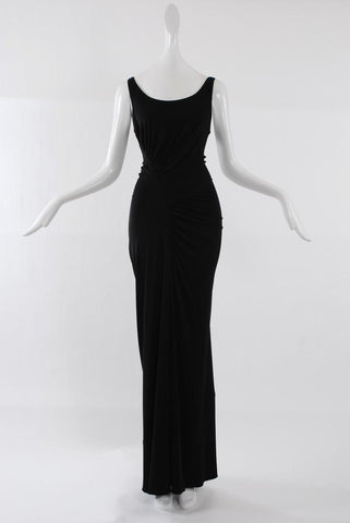 Isabel Toledo Caterpillar Gown Black
