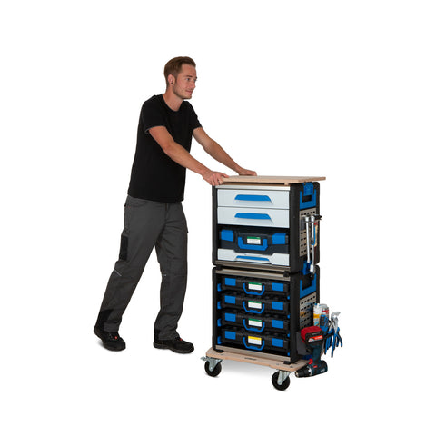 WORKMO - Modular Tool Case Racking System