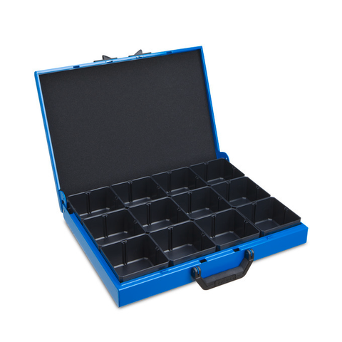 Metal case KM 321 w. IBS H63 12 pieces