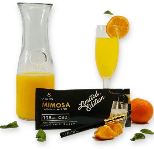 Limited Edition MIMOSA 125mg CBD Vape Pen