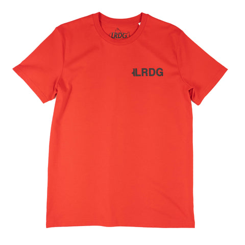 T-shirt EARTH rouge
