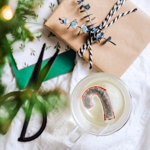 Candy Cane Shaped Tea Bags, Tea Bags, Brin d'Arômes