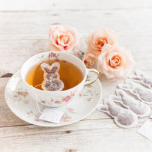 Load image into Gallery viewer, 5 Bunny Shaped Tea Bags, Tea Bags, brin-d-aromes
