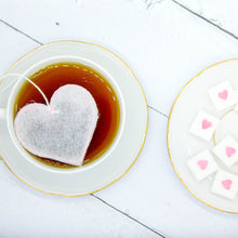Load image into Gallery viewer, Heart Tea Bags + Sugar Cubes Gift Set, [product_type], Brin d'Arômes