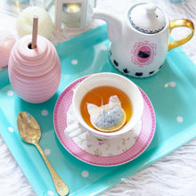 Load image into Gallery viewer, Pink Cat Shaped Tea Bags, Tea Bags, Brin d'Arômes