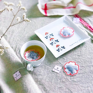 Flower Shaped Tea Bags, Tea Bags, Brin d'Arômes