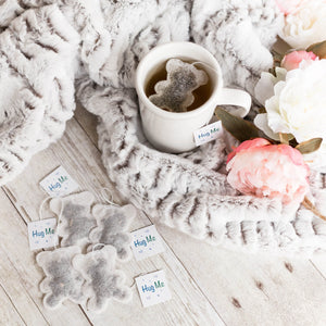 5 Teddy Bear Shaped Tea Bags, Tea Bags, Brin d'Arômes