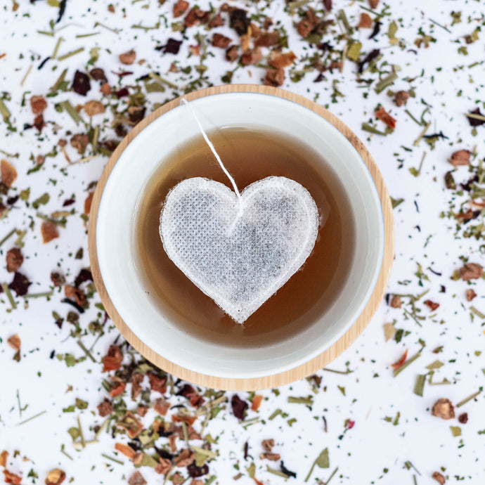 Heart Shaped Tea Bag Collection, Tea Bags, brin-d-aromes