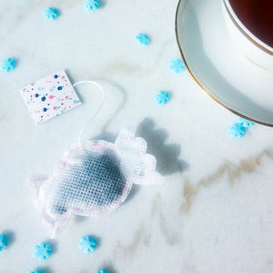 5 Candy Shaped Tea Bags, Tea Bags, Brin d'Arômes