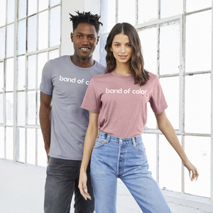 band of color tees to promote unity and communtiy