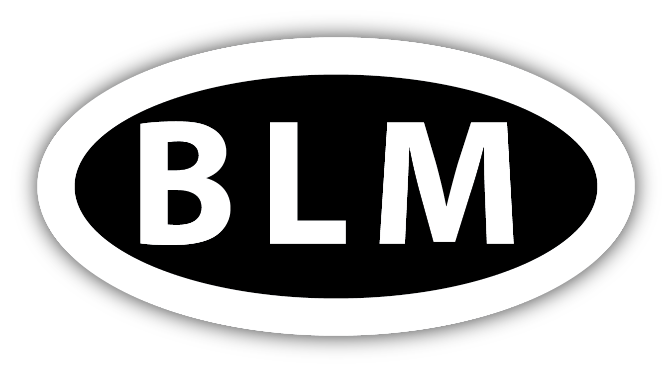 BLM sticker