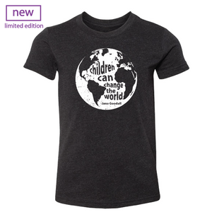 Children Can Change the World youth tee