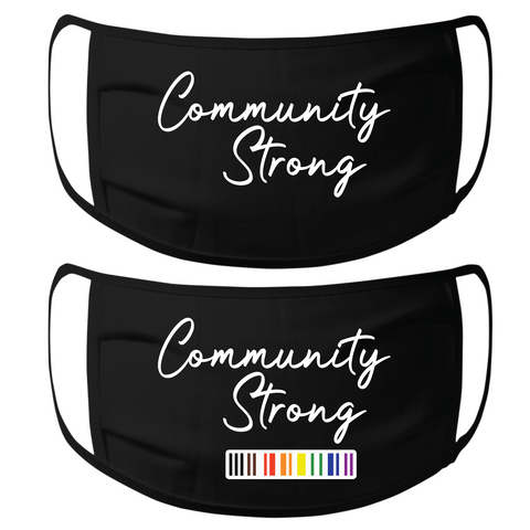 community strong face mask
