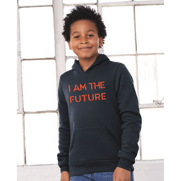 I AM THE FUTURE youth pullover hoodies