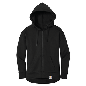 signature full-zip ladies' fleece hoodie