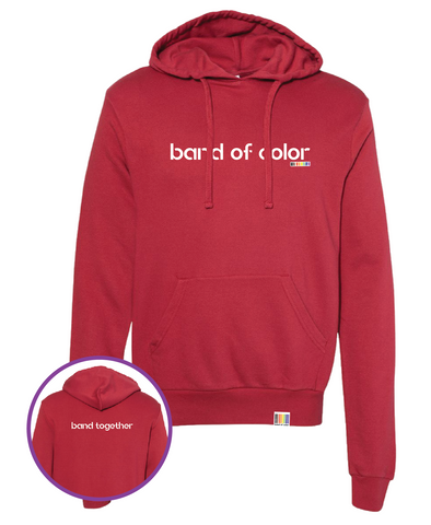 band of color cozy cozy pullover hoodie