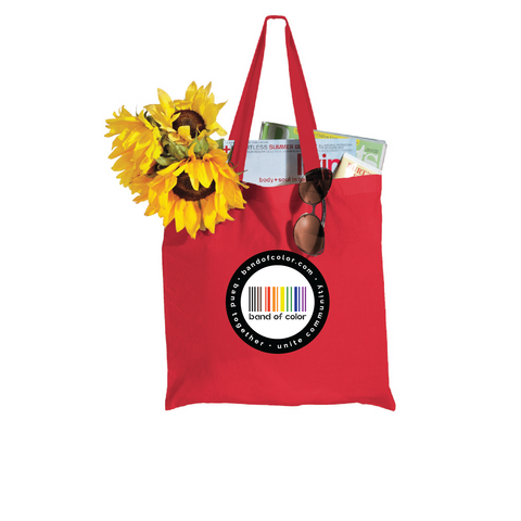 band of color shopper tote - solid