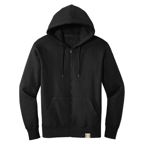 signature full-zip unisex fleece hoodie