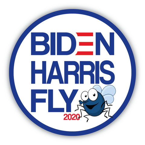 BIDEN-HARRIS-FLY sticker