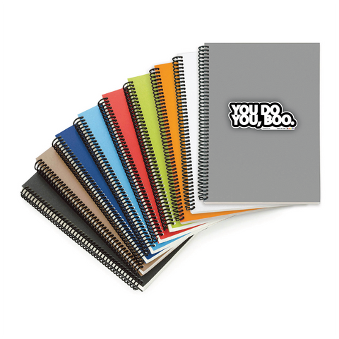 YOU DO YOU,BOO coil-bound notebooks