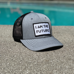 I AM THE FUTURE youth tucker hat