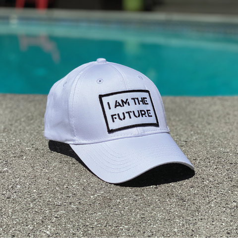 I AM THE FUTURE youth twill hat