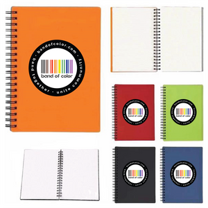 band of color wire-bound notebooks
